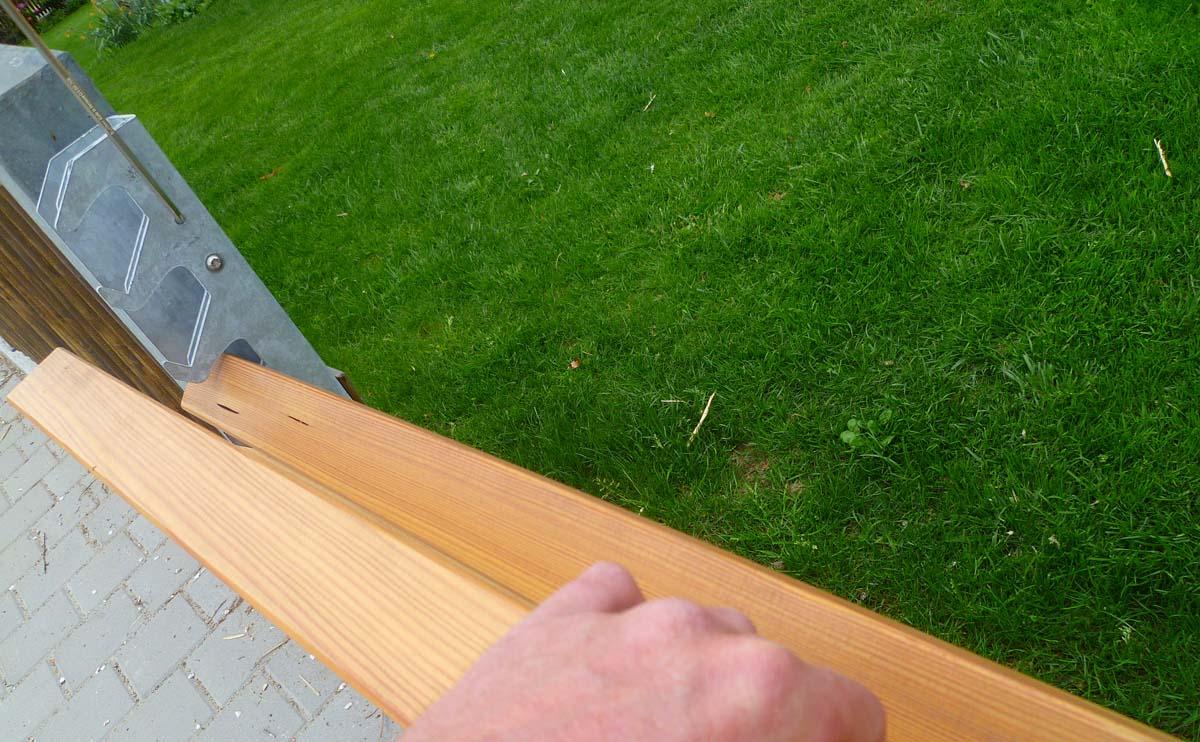 4. Bretter in beliebigen Materialien werden Vorab zurechtgeschnitten.