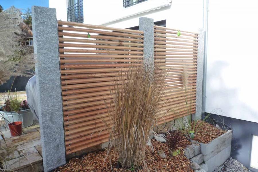 abgrenzung einer terrasse lignum linearis. Black Bedroom Furniture Sets. Home Design Ideas