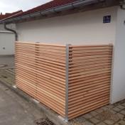 Parkplatz für Mülltonnen vz Lärche (1)
