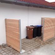 Parkplatz für Mülltonnen vz Lärche (3)