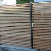 Sichtschutz mit Türe (4)