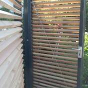 Sichtschutz mit Türe (7)
