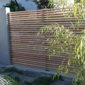 Sichtschutz mit Türe (8)