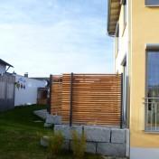 Dusche und Sichtschutz Sauna RAL7016 Lärche (8)
