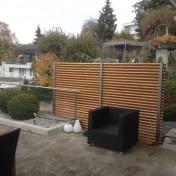 Blickfang Terrasse A2 Lärche Boden- und Wandbefestigung (2)